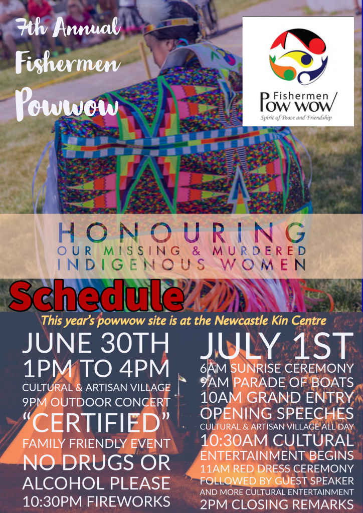 Powwow-schedule